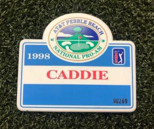 Official Caddie badge
